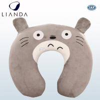Custom U Shaped Travel Neck Pillow For Air Traveling , Animal Neck Support Pillow Manufactures
