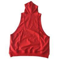 Custom Mens Plain Racerback Fitness Muscle Gym Bodybuilding Stringer Sleeveless Hoodie Manufactures