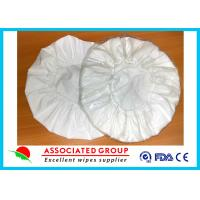 Cheap Needlrpunch Nonwoven Disposable Shampoo Cap Rinse Free  Shampoo Condition Added for sale