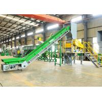 Automatic PP PE Soft Plastic Film Washing Recycling Machine 150 KW Low Consume Manufactures