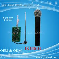 JK006B Amplifier karaoke VHF wireless micphone module  with handheld microphone Manufactures