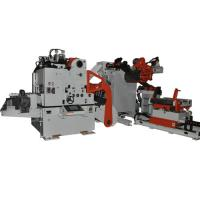 Heavy Duty Material Frame 3 In 1 Feeder For Coil Unwinding , Automatic Feeding Line Manufactures
