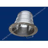 Stainless Steel Wedge Wire Basket Different V Wire Baskets Rotary Drum Screen Filter Manufactures
