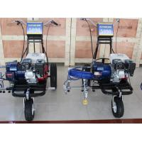 Hand-Push Airless Spray Road Parking Lot Striping Machine With Honda Engine Manufactures
