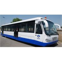 China Airport Diesel Engine Low Floor Buses With PPG Polyurethane Finishing on sale
