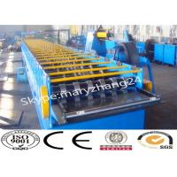 25m / Min Speed Floor Deck Roll Former Metal Forming Machine With PLC Contol Manufactures