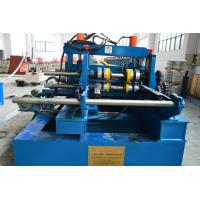 Cheap 100-600mm Width Cable Tray Cold Roll Forming Machine With Punching Press Machine for sale