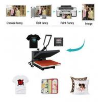 Buy cheap TRANSFER 38x38 Sublimation t-shirt Heat Press Transfer Printing Machine Product from wholesalers