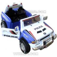 Quality 2 Seater Toy Ride on Car - Police Jeep with Openable Doors 99812 (ZTD68699) for sale