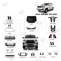 China 2020 Toyota Hilux Revo Parts 4x4 Pickup Truck Fortuner To Revo on sale