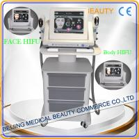 2015 New Products Wrinkle Removal Face Lift HIFU Machine Manufactures