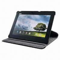China 360° Rotation Cover for Asus TF300, PU Leather Case for Asus TF300 on sale