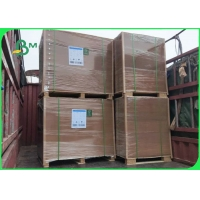 270gsm + 15g PE Food Grade Coated Kraft Paper For Food Packing Boxes Manufactures