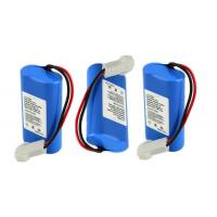 Li Ion Rechargeable Lithium Batteries 2S1P For Medical / Shaver , Environment Friendly Manufactures