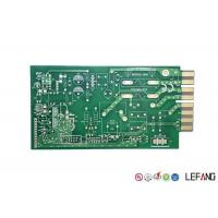 Green Solder Printed Circuit Board PCB 4 Layers 1.6mm Thickness For Communication Manufactures