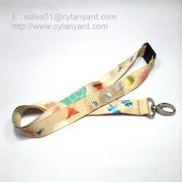 Buy cheap Dye sublimation transfer print lanyard with breakaway buckle from wholesalers