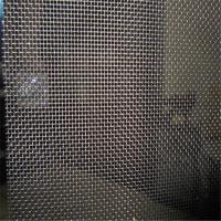 China Plain weave 14 X14 stainless steel window screen roll for aluminium insect screen door on sale
