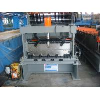 Easy Operation Customized Sheet Metal Decking Roll Forming Machine Controled by PLC System