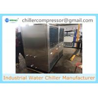 SS316L Material Food Grade Air Cooled Water Chiller for Food Dairy processing