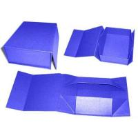 China Recycled Cardboard Paper Gift Box , Foldable Gift Box With Custom Logo on sale