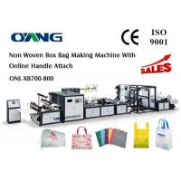 Cheap Multifunctional Automatic Non Woven Bag Making Machine Computerized 18 KW for sale