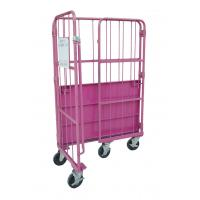 Foldable Roll Cage Trolley Space Saving Customized Size And Colors Manufactures