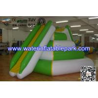 Professional Inflatable Water Climbing Tower With Slide For Water Park Manufactures