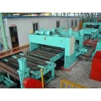 CTL  Multi Blanking Line , Hydraulic Sheet Cutting Machine Coil O.D Max 1800 Mm Manufactures