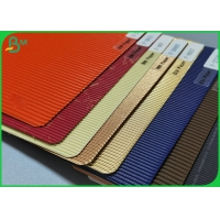 Single Faced Wave Flute Colour Corrugated Paper Cardboard Sheet For Gift Carton Manufactures