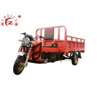 Heavy Duty Electric Cargo Tricycle , 2 - 3KW 60V Electric Delivery Trike Manufactures