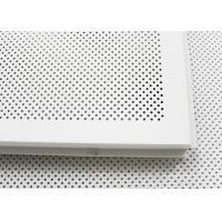 600 x 600 Acoustic Ceiling Tiles Aluminum Perforated Metal Ceiling for Open Area Manufactures