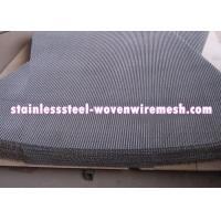 Plain Crimped Electro Galvanized Mining Screen Mesh Square Aperture For Rust - Prevention Manufactures