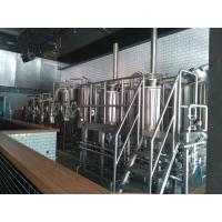 Quality 50 HL Commercial Micro Beer Brewing Equipment With Steam Heating wholesale