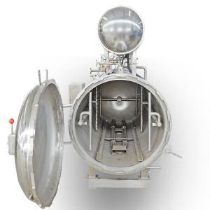 China Popular Food Sterilization Equipment Water Spray Retort / Side Spray Autoclave on sale