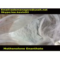 99% Purity Raw Steroid Powders CAS303-42-4 Methenolone Enanthate Bodybuilding / Primobolan Manufactures