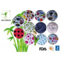 Waterproof Organic Bamboo Nursing Pads Round / Flower / Heart Shape Available Manufactures