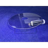 Military Sapphire Glass Window , Optical Window Glass 0.5 - 50 Mm Thickness Manufactures