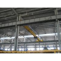 Light duty electric Single girder overhead cranes travelling crane with 10 T load capacity