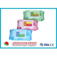 Various Packages Baby Wet Wipes Plain Spunlace Nonwoven 45GSM Fragrance Free Manufactures