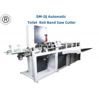 China 11Kw Toilet Paper Roll Band Saw Cutter  /  Automatic Cutting Machine on sale