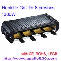 Raclette Grill for 8 persons Manufactures