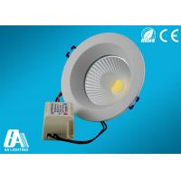 Aluminum COB 9W LED Downlight IP33 6000K - 6500K For Conference Manufactures