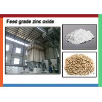 China Feed Grade White Zinc Oxide For Fertilizers , Zno Powder CAS 1314-13-2 on sale