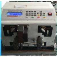Cutting and striping machine machine for Sleeve tube cable XC-220 AWG10 to AWG32 0.20~2.5 Manufactures