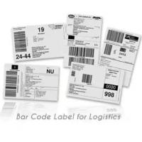 Anti Counterfeit Logistic Labels , Adhesive Thermal Label Sticker Manufactures