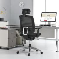No Noise President Swivel Chair , Sliding High Back Mesh Office Chair Manufactures