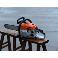 China 2 Stroke Lightweight Gas Chainsaw With 45cc Displancement 20 Inch Bar on sale