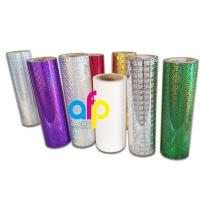 Holographic Thermal Lamination Film Laser Holographic Film for Gift Wrapping Manufactures