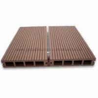 Buy cheap Water-Resistant WPC Decking Board with Bamboo Floor, Suitable for Outdoor Floor from wholesalers