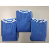 Fluid Resistance Comfortable Blue Surgical Gowns Long Sleeve Manufactures